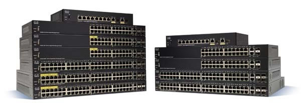 Switch Cisco 350 Series - Administrable